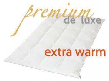 premium de luxe daunendecke extra warm 155x220cm. Black Bedroom Furniture Sets. Home Design Ideas